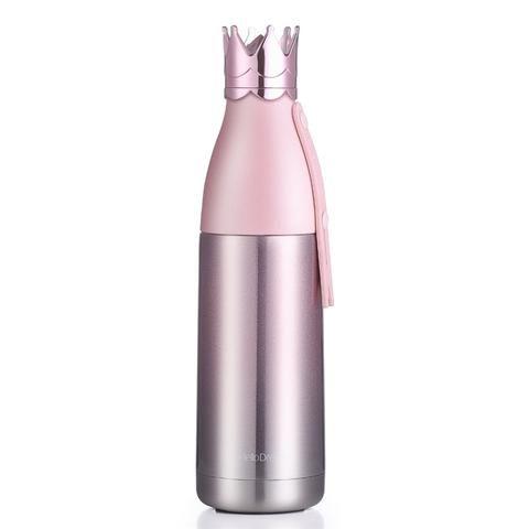 350ml 3D Crown Vacuum Flask Water Bottle   DIY in 2019