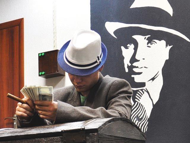 """Аль Капоне"" - игра в реальности, эскейп квест комната от Real Escape"