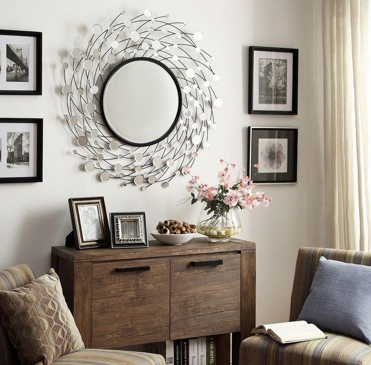 Солнечное зеркало будет одинаково красиво смотреться как в малогабаритной квартире с самым незатейливым интерьером, так и в элитном пентхаусе рядом с дорогим произведением искусства, как в маленькой спальне, так и в огромной гостиной.