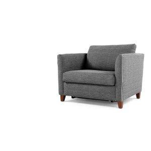 Installez-vous confortablement sur les fauteuils convertibles moelleux de la collection Bari.