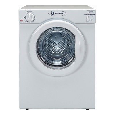 WHITE KNIGHT C39AW Compact Tumble Dryer 3.5kg White #homeappliances #homeelectronics #tumbledryer