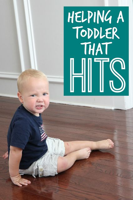 Toddler Approved!: Helping a Toddler That Hits