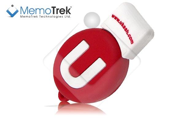 100% custom USB flash drive Ukash-stylee and created by MemoTrek™