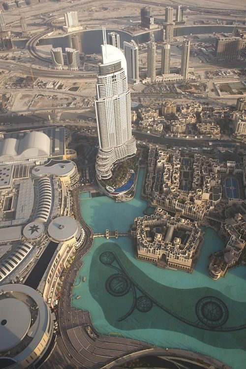 Dubai from The Burj Khalifa - I was there 2013 Would go back in a heart beat.
