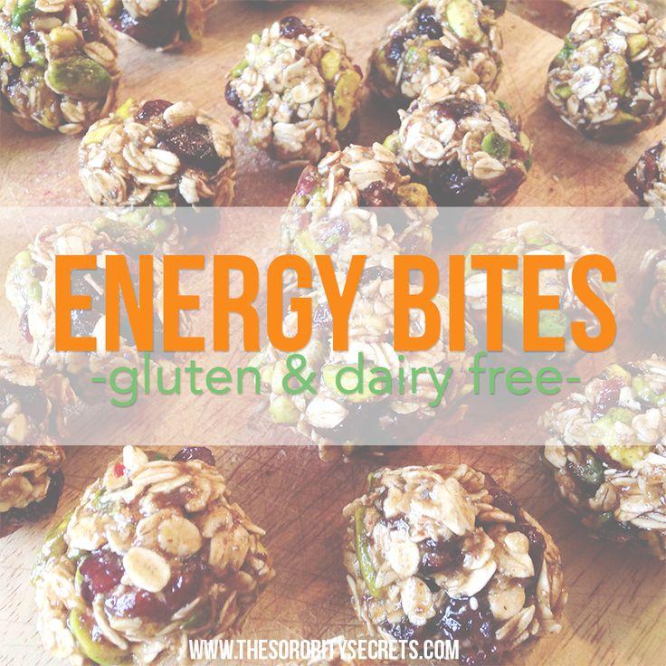 hot sales a9ce7 43e2d Energy Bites Recipe  dates, honey, chia seeds, ground flax seeds, ...