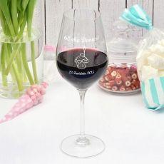 Grawerowany kieliszek do wina BABECZKA idealny na urodziny