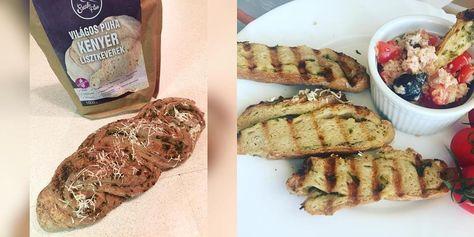 Szafi Free fokhagymás-petrezselymes csavart kenyér