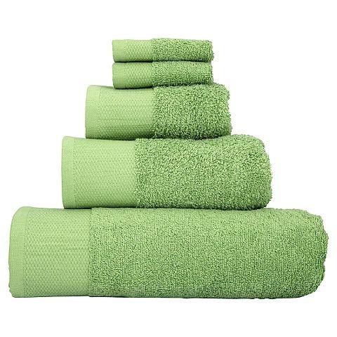 green bath sheet (£6.00)