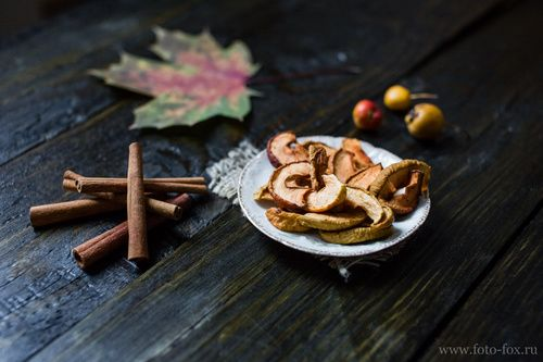 сушеные яблоки рецепт