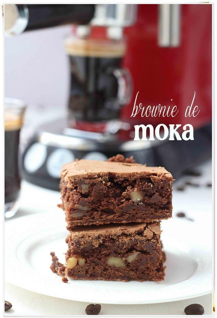 Brownie de moka