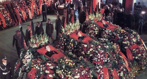 The lavish funeral of the Soyuz 11 crew highlighted the enormous sense of loss felt by the Soviet people. The three men had become national, and international, heroes.