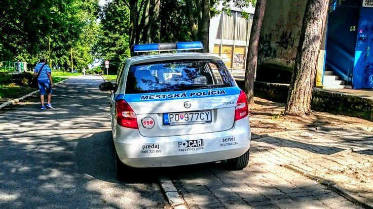 Skoda Fabia City Police