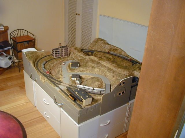 Small n scale layouts the trackplan i did expand to 4 39 x 4 39 so that may fit here 39 s the - Ho train layouts for small spaces image ...