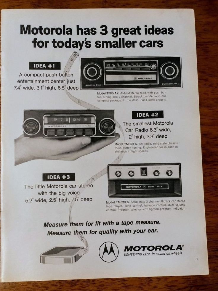 1974 Motorola radio car stereo OR Twist Lemon Menthol cigarette Vintage Print Ad