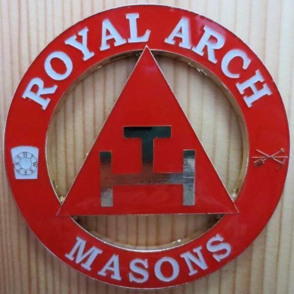 ROYAL ARCH MASONS Car Badge