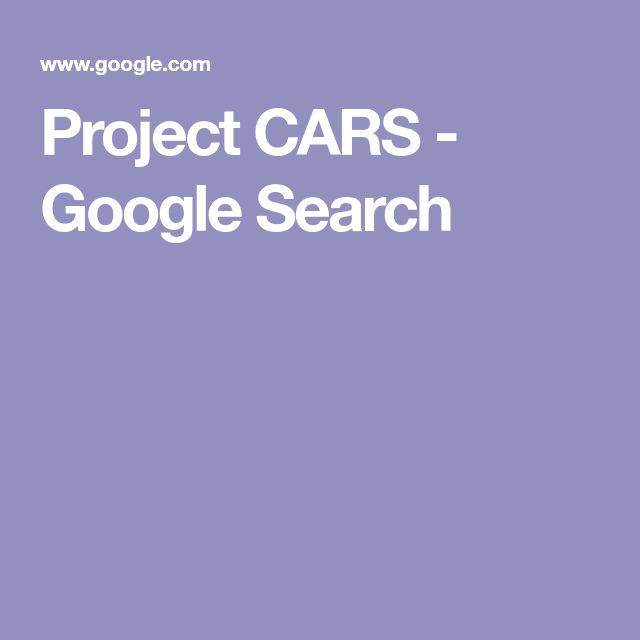 Project CARS - Google Search