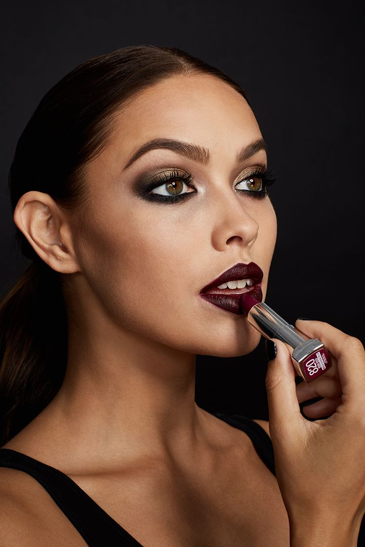 Vamp up your look this season with the perfect burgundy lipstick.  Maybelline Loaded Bolds Lipstick in 'Berry Bossy' is the perfect shade to add a bit of edge to any makeup look.