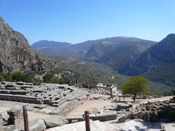 Site archéologique de Delphes Grèce