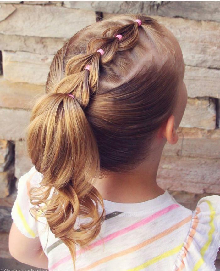 Frisuren im Kindergarten: originelle Ideen und neu…