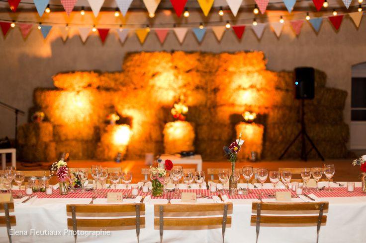 decoration salle mariage guinguette
