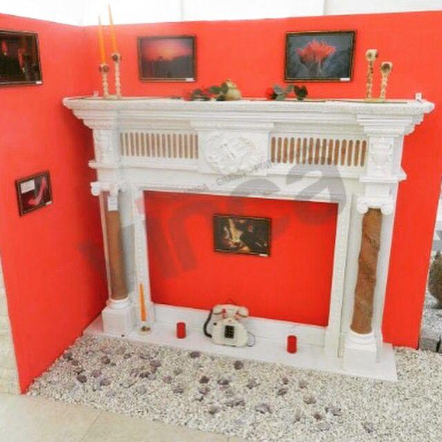 Our fireplace http://www.vinca.ro/mobilier-marmuragranit//semineu-regal-marmura.html