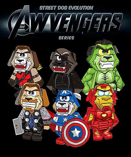 Doggy Avengers assemble!!!