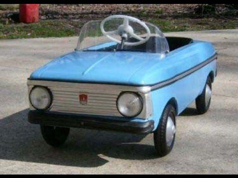 #1306.Детские Автомобили СССР (АВТО БЛОГ 2015)