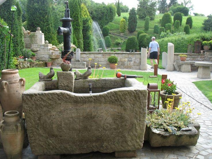 27 besten Brunnen Bilder auf Pinterest Wasserspiele, Teiche und - gartenbrunnen selber bauen bauanleitung
