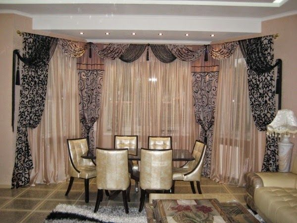 Top ideas for Classic curtains style in interior, #Classic #black #curtains #patterns