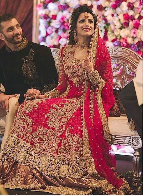 17 best images about muslim brides on pinterest for Indian muslim wedding dress