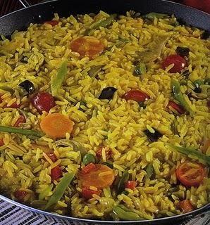 Prato típico da culinária espanhola em versão vegana