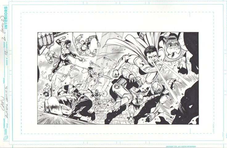 Action Comics 12 Author: Cafu DC Comics 2012