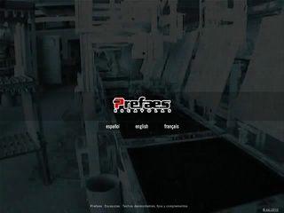 Vista mini Web: www.prefaes.com
