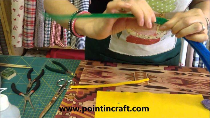 Mini tutorial: Creare con gli Scovolini #pointincraft #scovolini #fiorellini #creaconpointin #tutorial