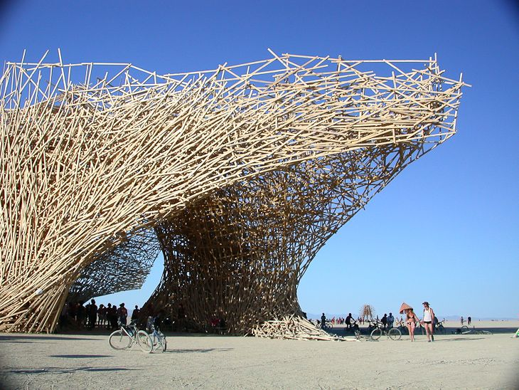 Arne Quinze at Burning Man