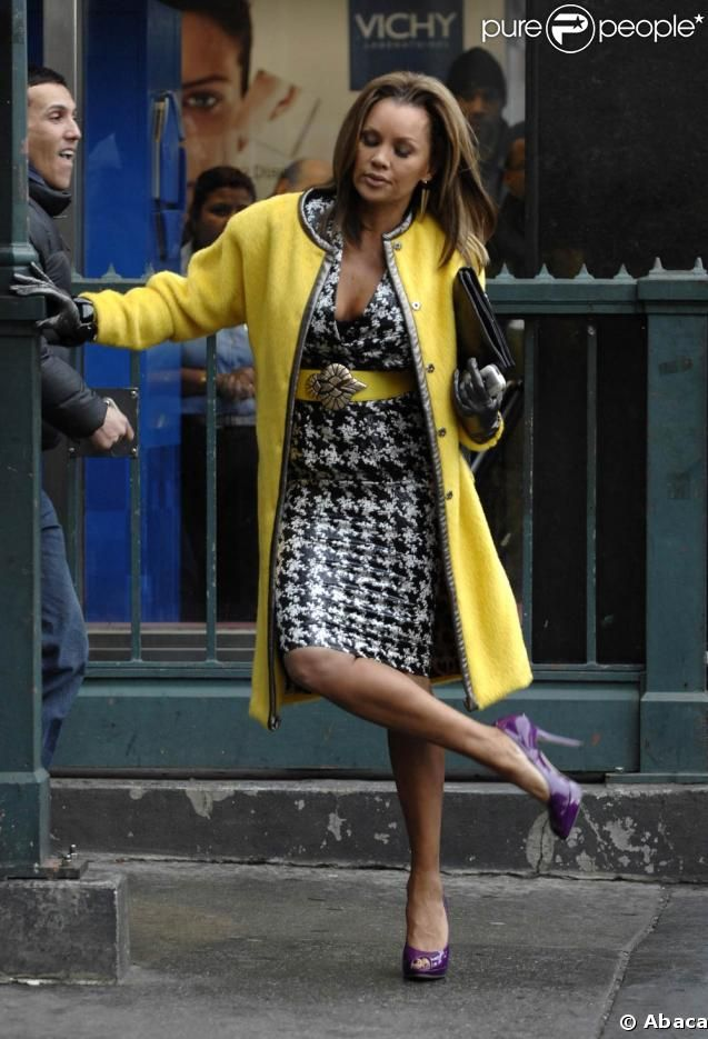 Vanessa Williams in Ugly Betty, Stylist & costume designer Patricia Field