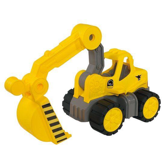 BIG 'Power Worker' speelgoed graafmachine