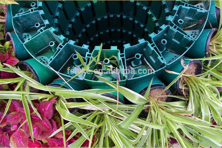 Пластиковые Вертикальный сад wall плантатор, DIY любую форму-Цветочные горшки и кашпо-ID товара::60428580370-russian.alibaba.com