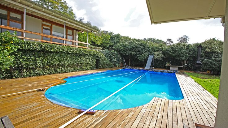 Swimming pool and deck with garden  #views #luxury #pool #decor #design #inspiration #lifestyle