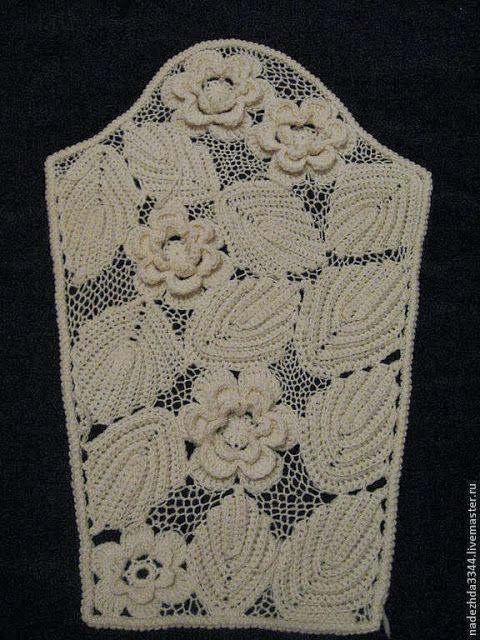 Crochê Tricô: Escândalo de Crochê Irlandês avec tuto video http://ivyscreationscrochet.blogspot.com.br/2013/10/escandalo-de-croche-irlandes.html
