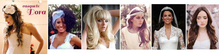 Cabelo de noiva: como combinar com o meu estilo? Leia no blog www.mariarossetti.com.br/cabelo-de-noiva/ #cabelodenoiva #noiva2016 #noivanegra #noivajaponesa #noivaloira #noivadecabelocurto #noivaruiva #cabelosolto #bridalhair