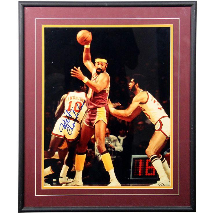 Wilt Chamberlain Signed 16x20 Framed Photo PSA/DNA