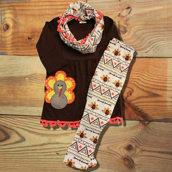 7 best Girls Thanksgiving Boutique Outfits images on Pinterest ...