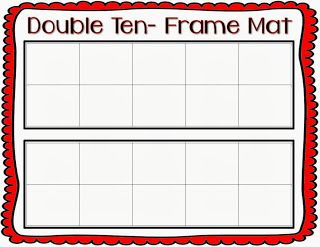 freebie ten frame mat