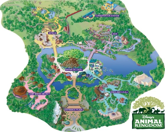 Mapas de Disney World - Mapas de Universal Orlando - Mapas de Parques Tematicos Orlando