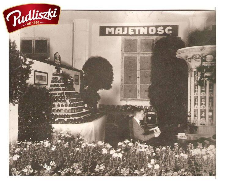 """1929r. - Pudliszki odznaczone """"Wielkim Złotym Medalem"""" na Powszechnej Wystawie Krajowej w Poznaniu. #pudliszki #historia"""