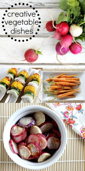 vegetables dishes and creative on pinterest