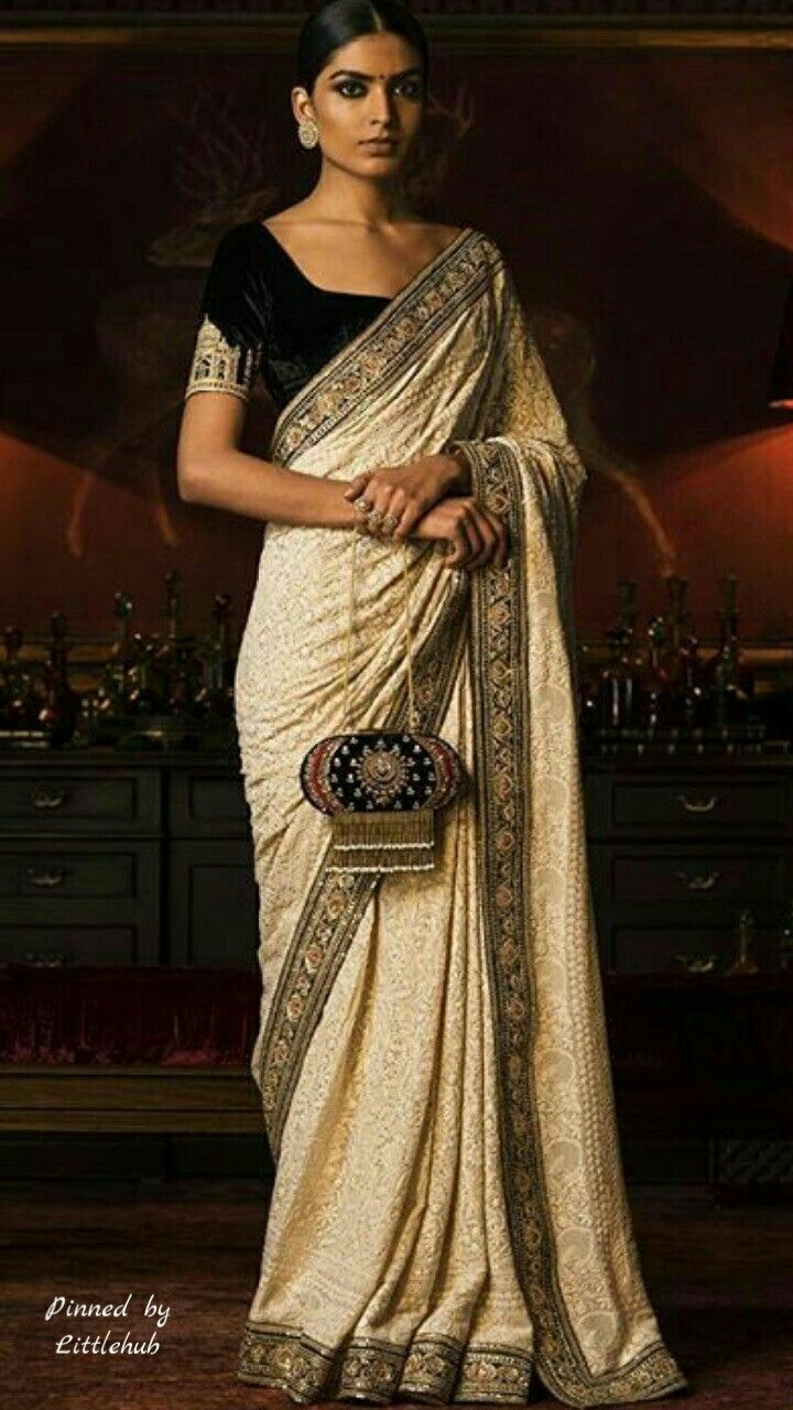 Pinterest: @Littlehub || Sabyasachi~❤。An Exquisite Clothing World ||Sabyasachi Saree