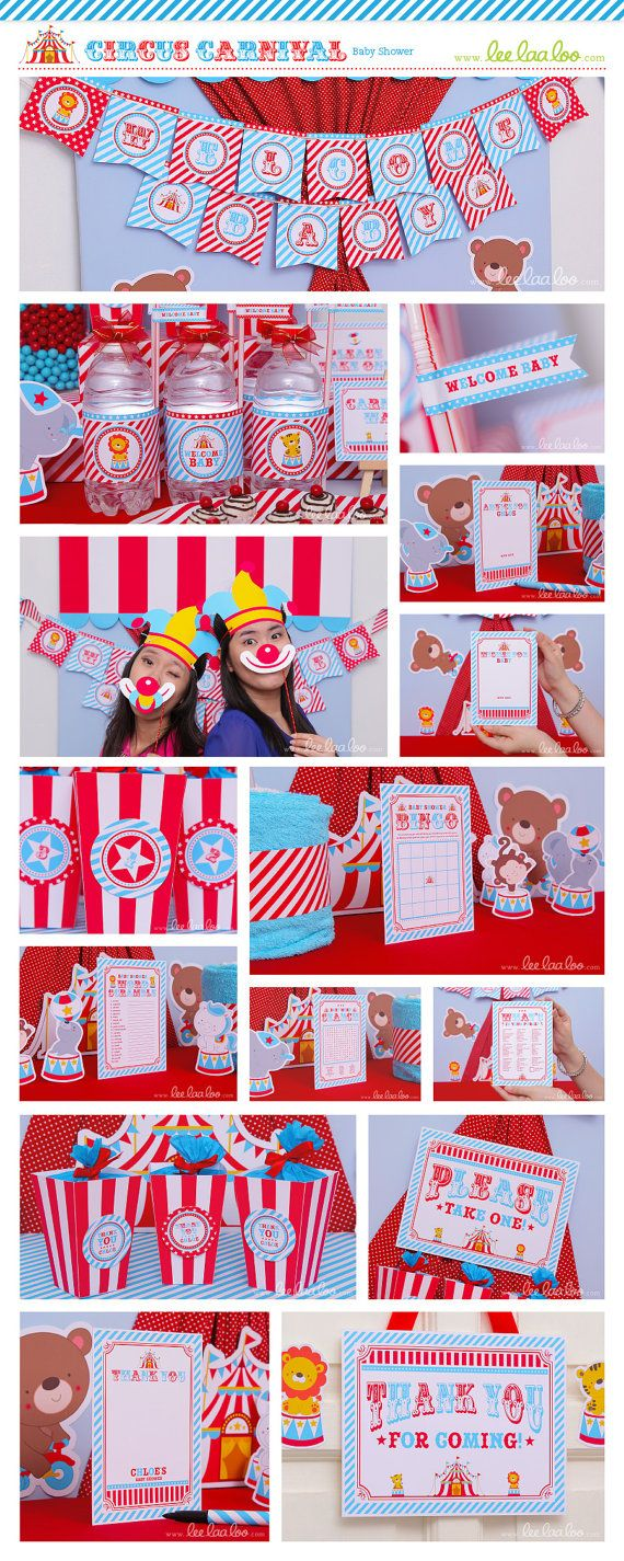 baby shower ideas pinterest circus baby showers showers and