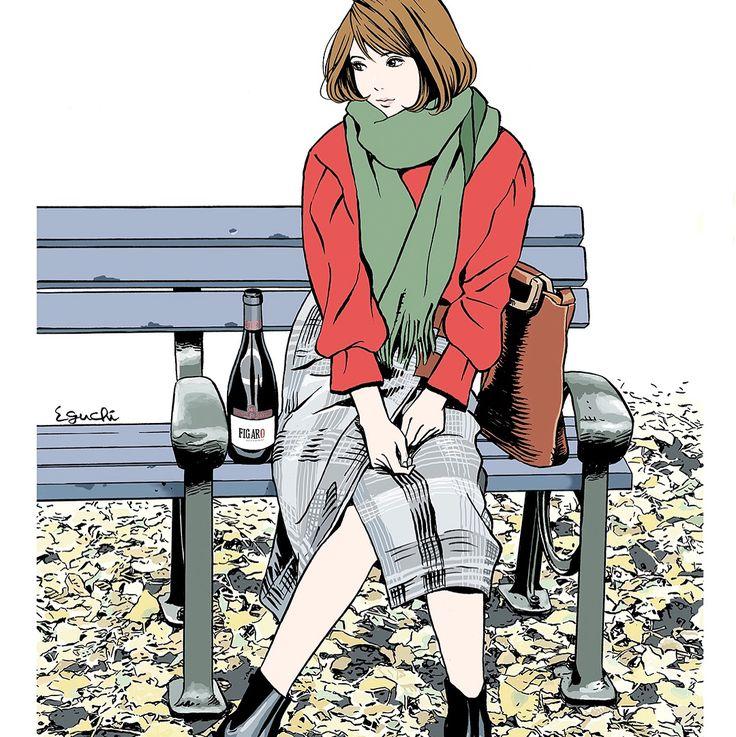 Dec.2017  #illustlation #artwork #realwineguide #wine #bandedessinee #comicart